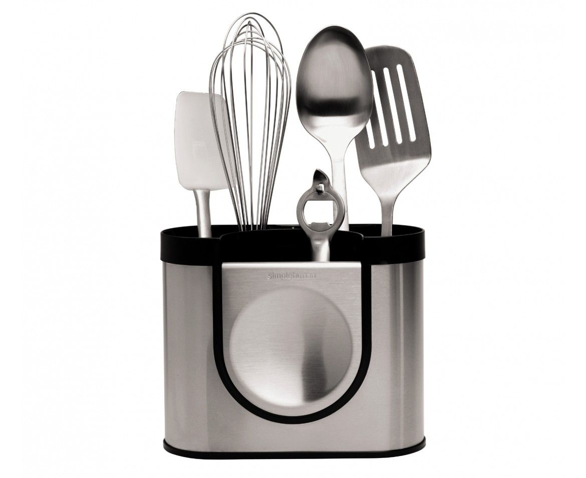 simplehuman | stainless steel utensil holder - you put your weed in ...