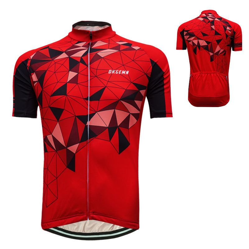 2017 Cool Mens Cycling Jersey Bicycle Sportswear Short Sleeve Bike