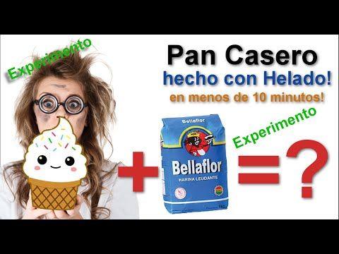 Hacer Pan casero ¡ con helado! y horno de micro ondas | Experimentos científicos para niños - YouTube