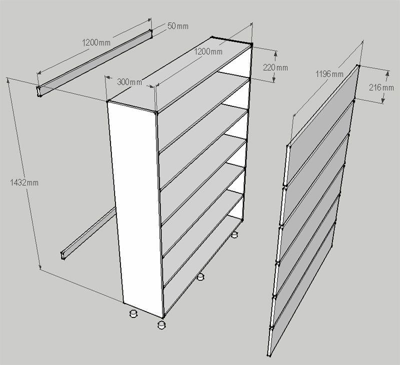 Make A Diy Shoe Storage Cabinet Organiser Diagram Plan