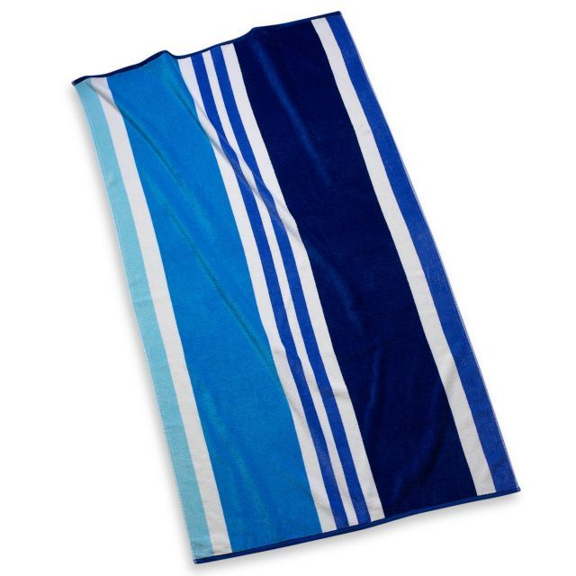 Cabana Stripe Beach Towel Bed Bath Beyond 9 99 Beach Towel