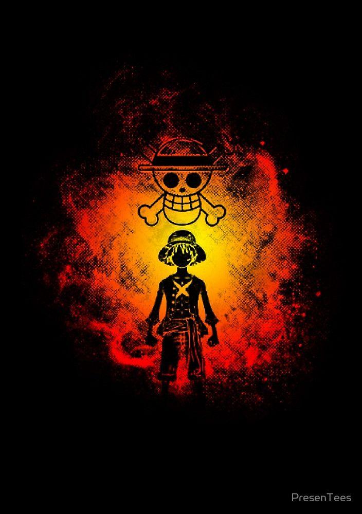'Pirate King of One Piece'  by kiddu