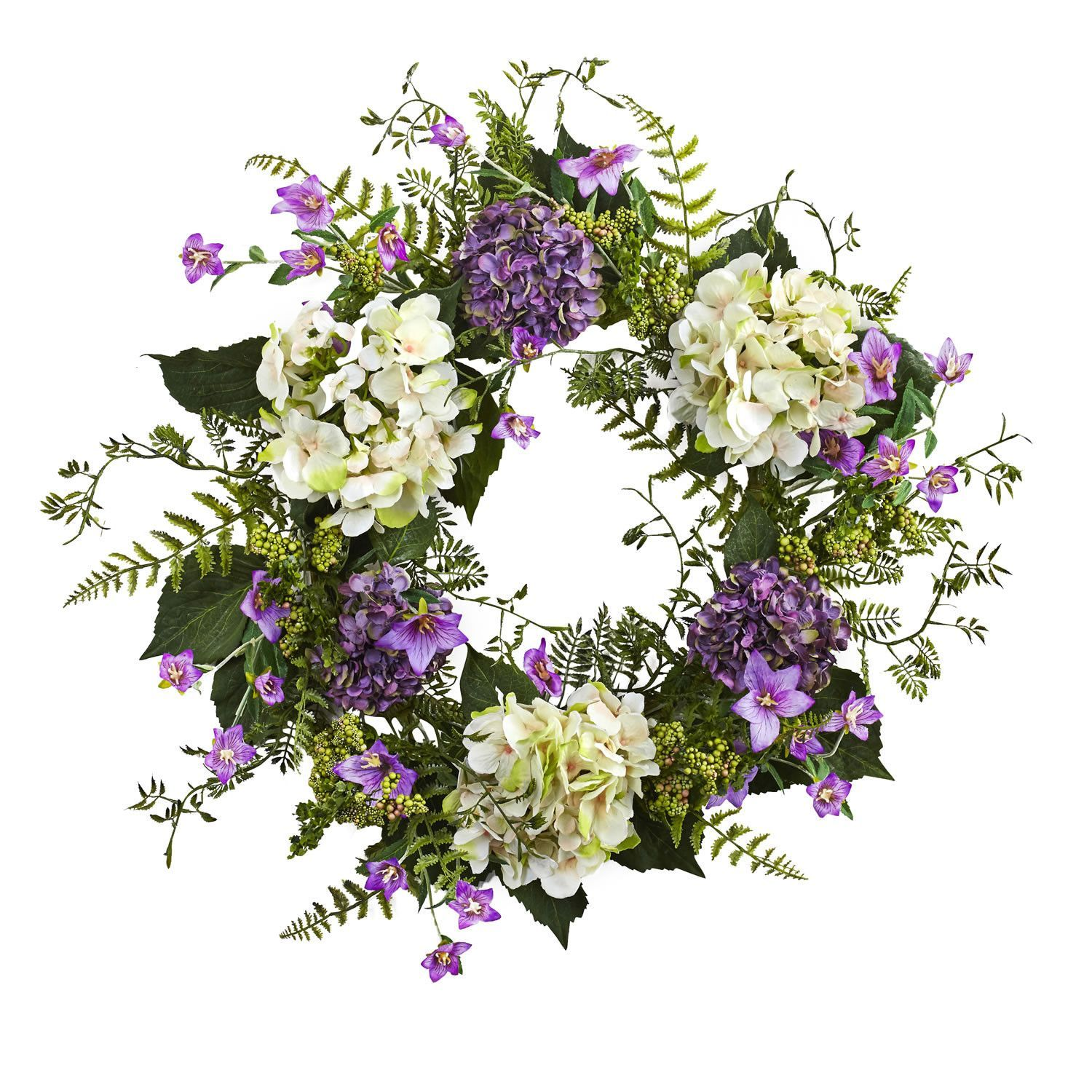 Uu hydrangea berry wreath berry wreath and products