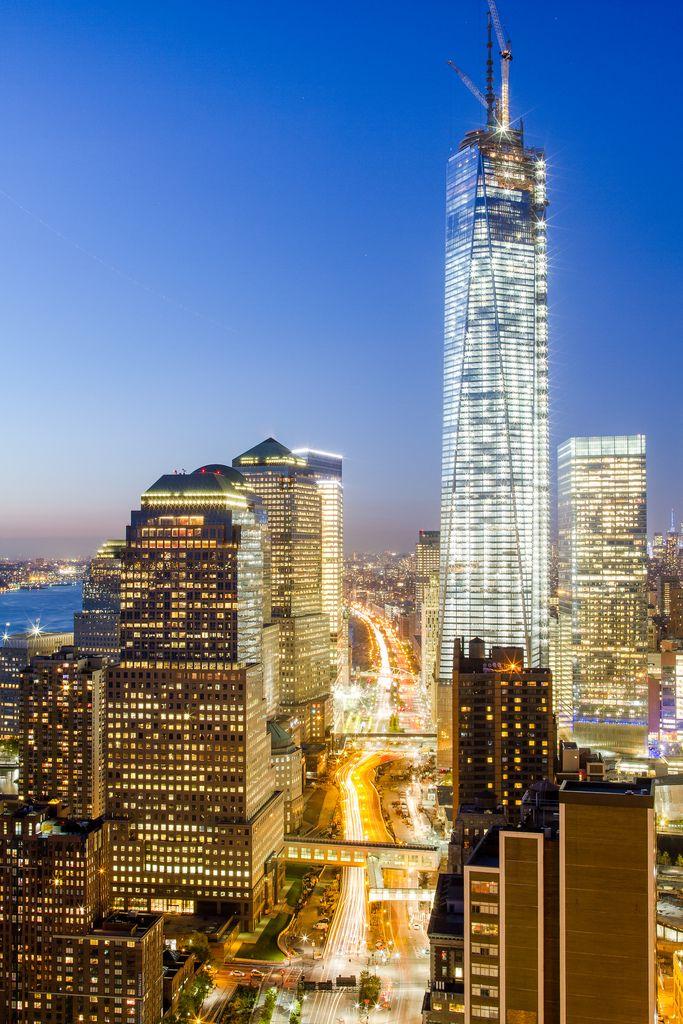 six world trade center | Skymino: Il One World Trade Center al Top!