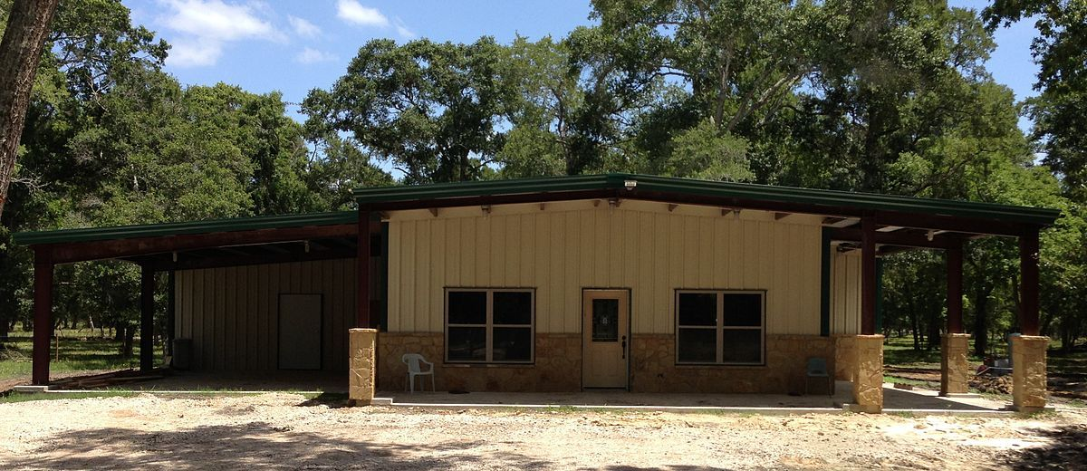 Awesome Metal Barndominium Home Large Garage Building Homes Barn Style House