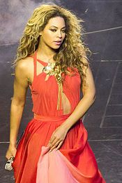 Beyonce. The Mrs Shawn Carter World Tour