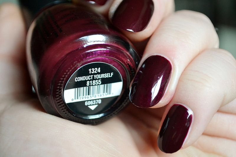 China Glaze Nail Lacquers in Loco-Motive, Stop That Train!, Conduct Yourself, Lug Your Designer Baggage, What Are You A-Freight Of?, and Choo-Choo Choose You (All Aboard Collection Pt. 1) www.lustforliploss.com