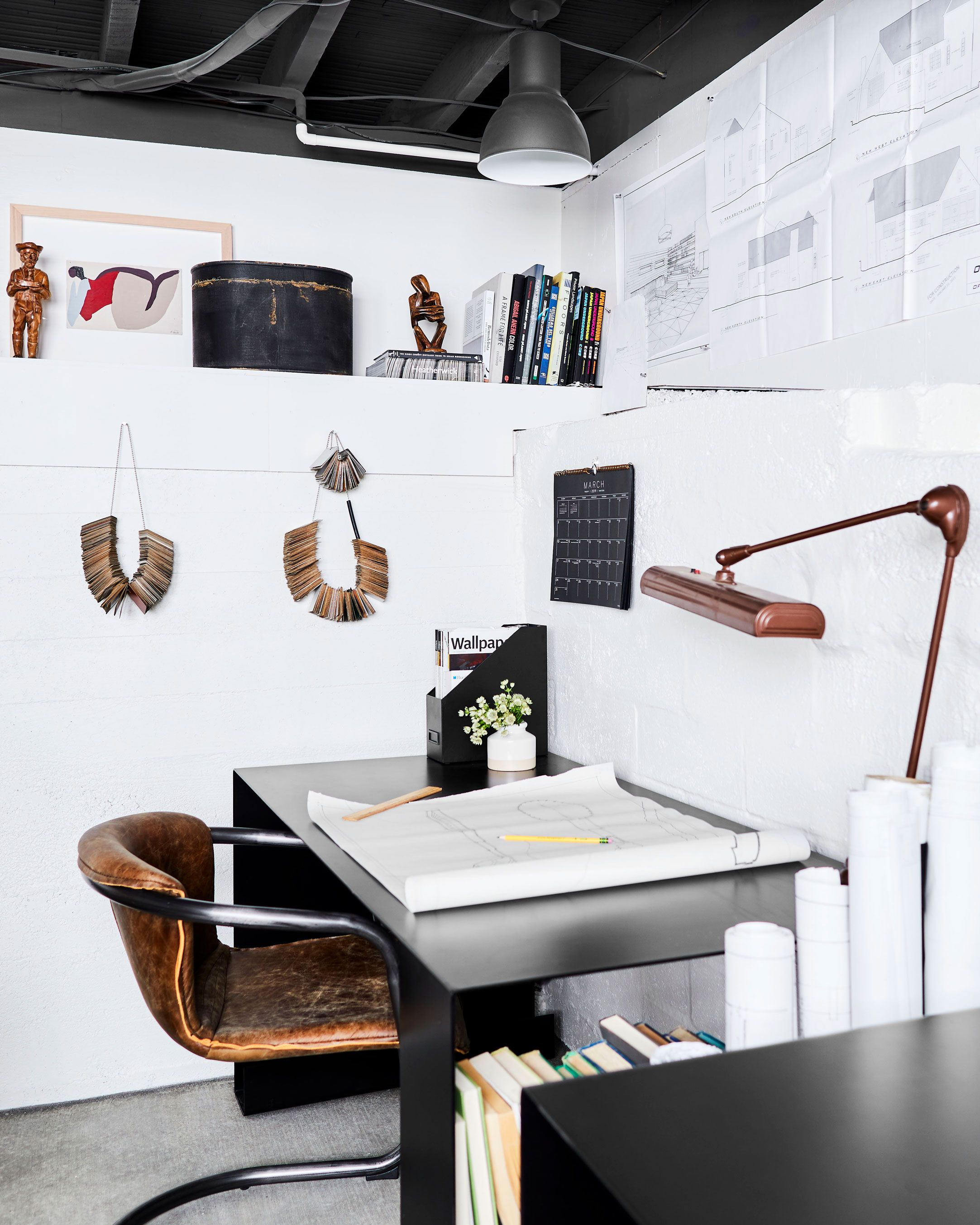 Basement Home Office: A Basement-Turned-Office Reveal (+ 7 Steps For How To Pull