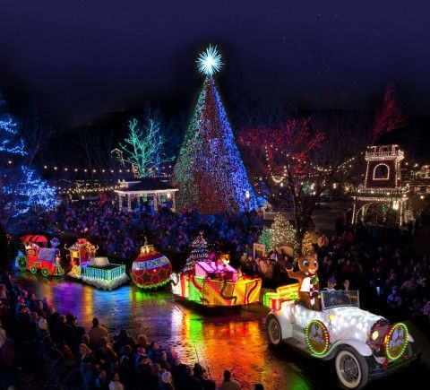 Top Things To Do With Kids In Branson At Christmas Silver Dollar City Best Christmas Lights Best Christmas Light Displays