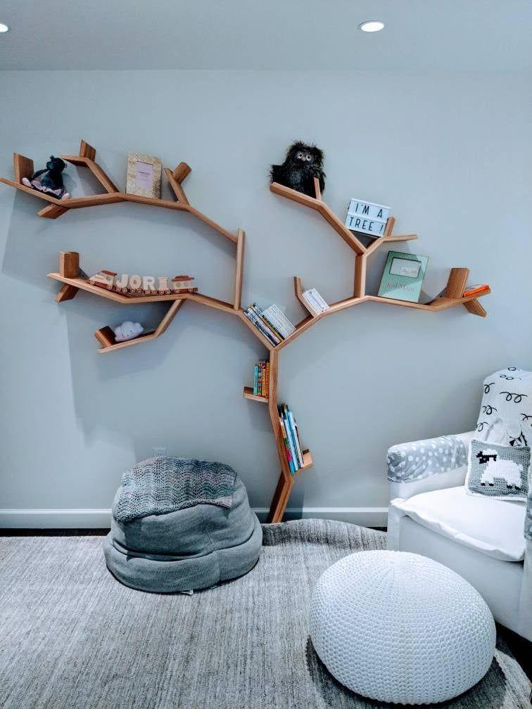 The Beech Tree Bookshelf Kinderschlafzimmer Bucherregal Baum Bucherregal