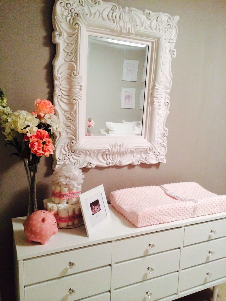 Elegant Pink \u0026 Grey Nursery | Project nursery, Nursery and Babies