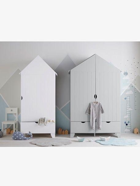 Kinderkleiderschrank \'Holidays\' - WEIß - 2 | Möbel | Pinterest ...