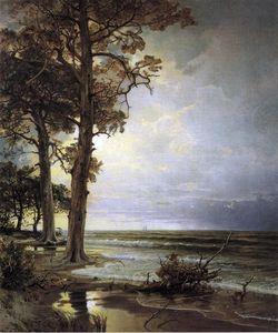 William Trost Richards (1833-1905) ~ Near Atlantic City, New Jersey
