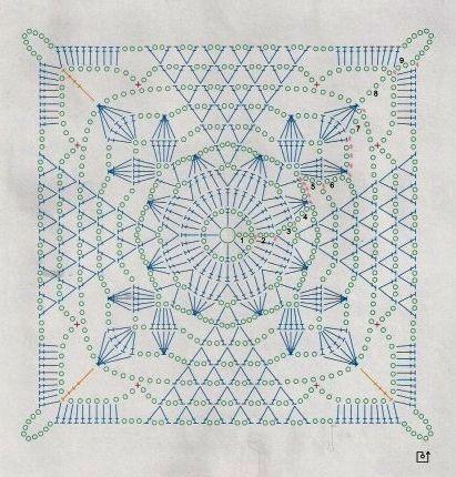 ergahandmade: Crochet Curtains + Diagrams | Crochet for Home ...