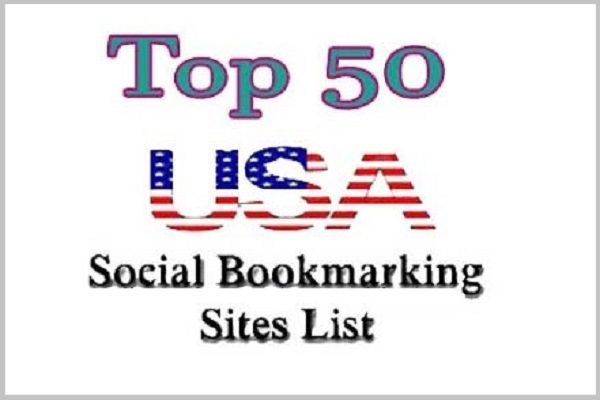 Top 50 USA Social Bookmarking Sites | Free Net Download