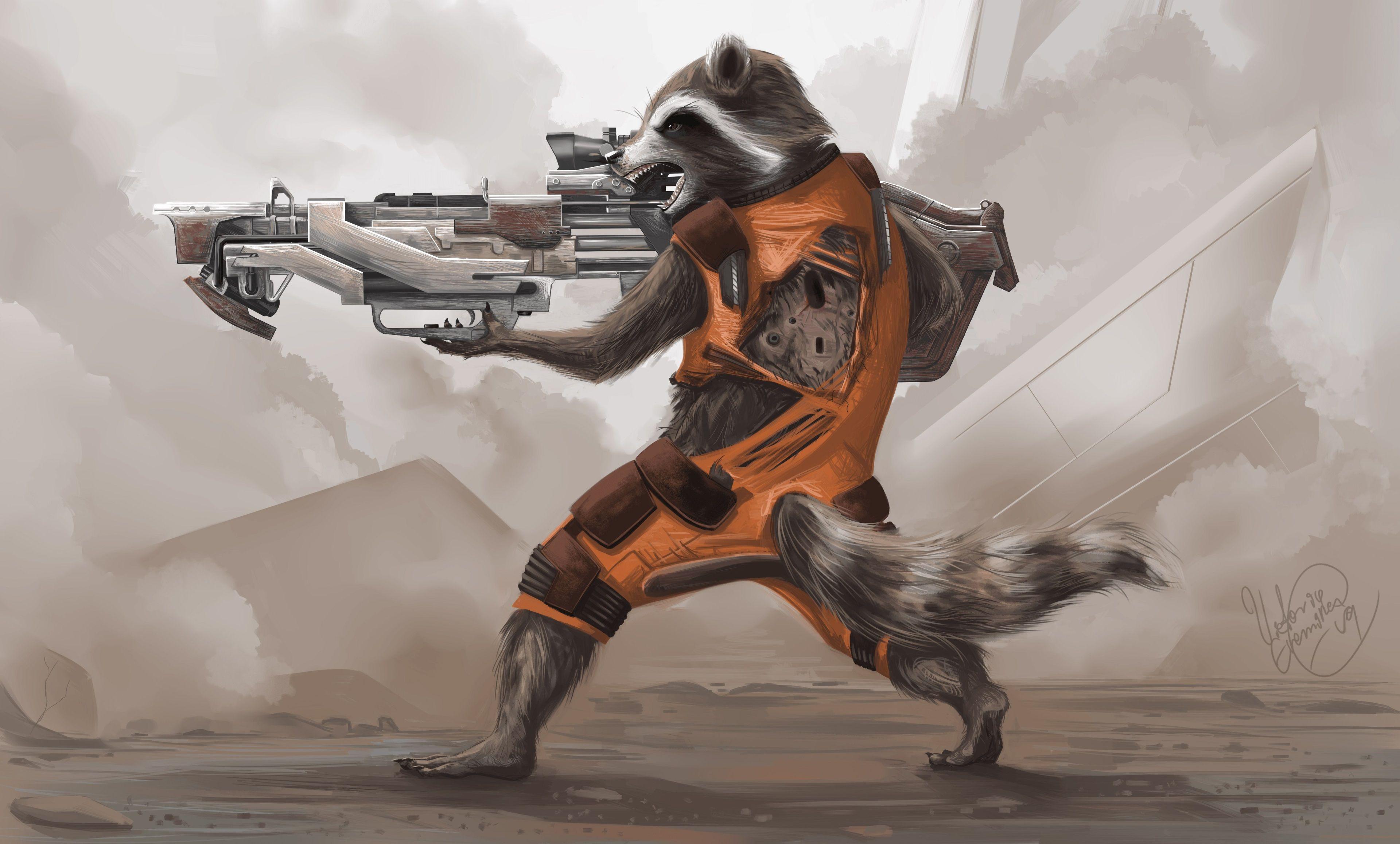 3840x2317 Rocket Raccoon 4k Wallpaper For Pc In Hd Wallpapers