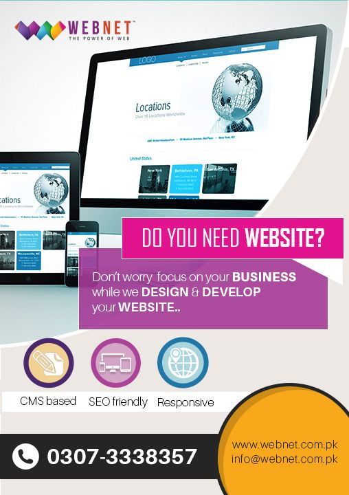 Webnet Pakistan Company We Specializes In Providing High Quality Website Design Services Grap Web Development Design Web Design Ecommerce Website Development