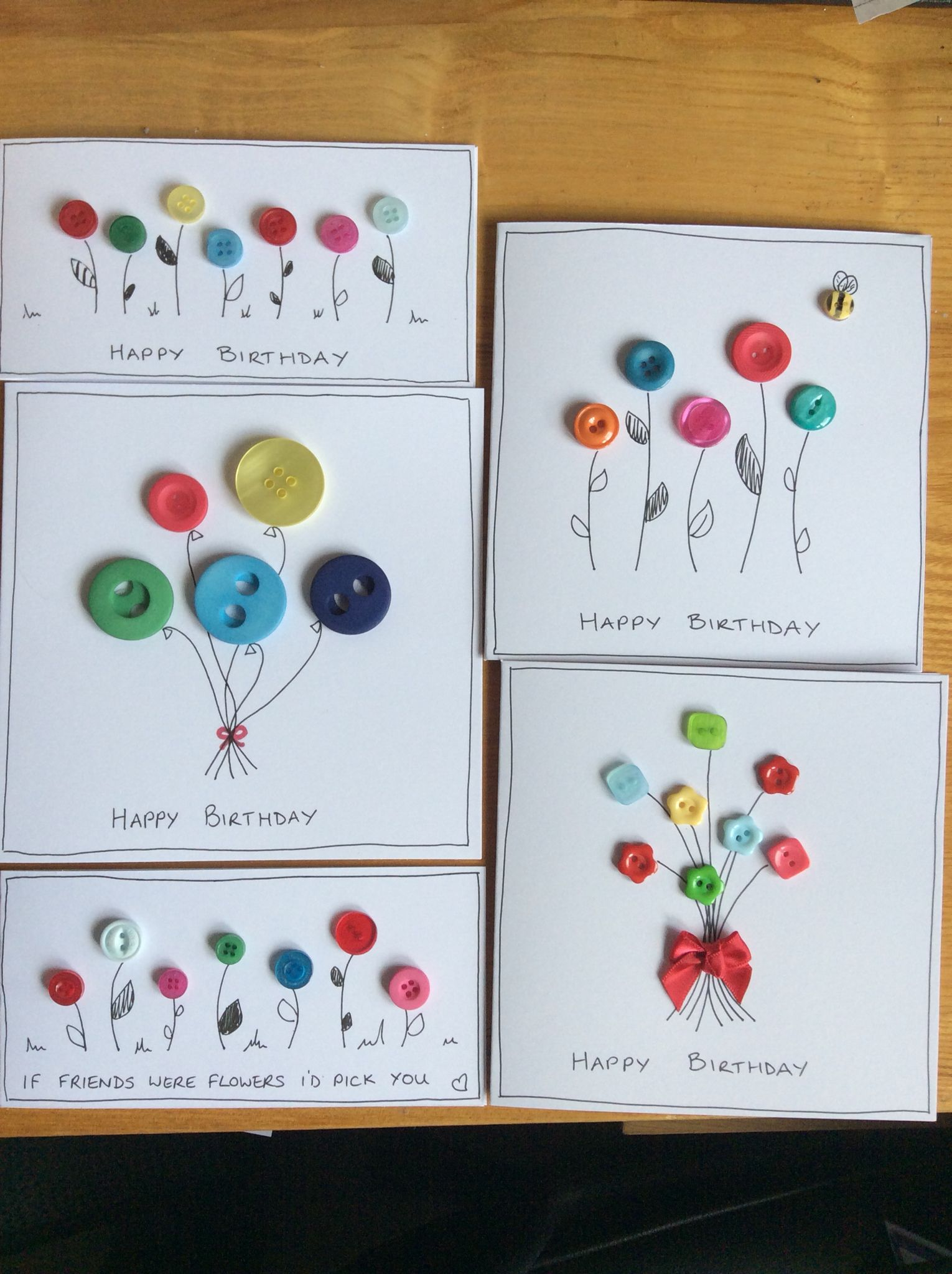 Button tasted cards homemade cards pinterest buttons button