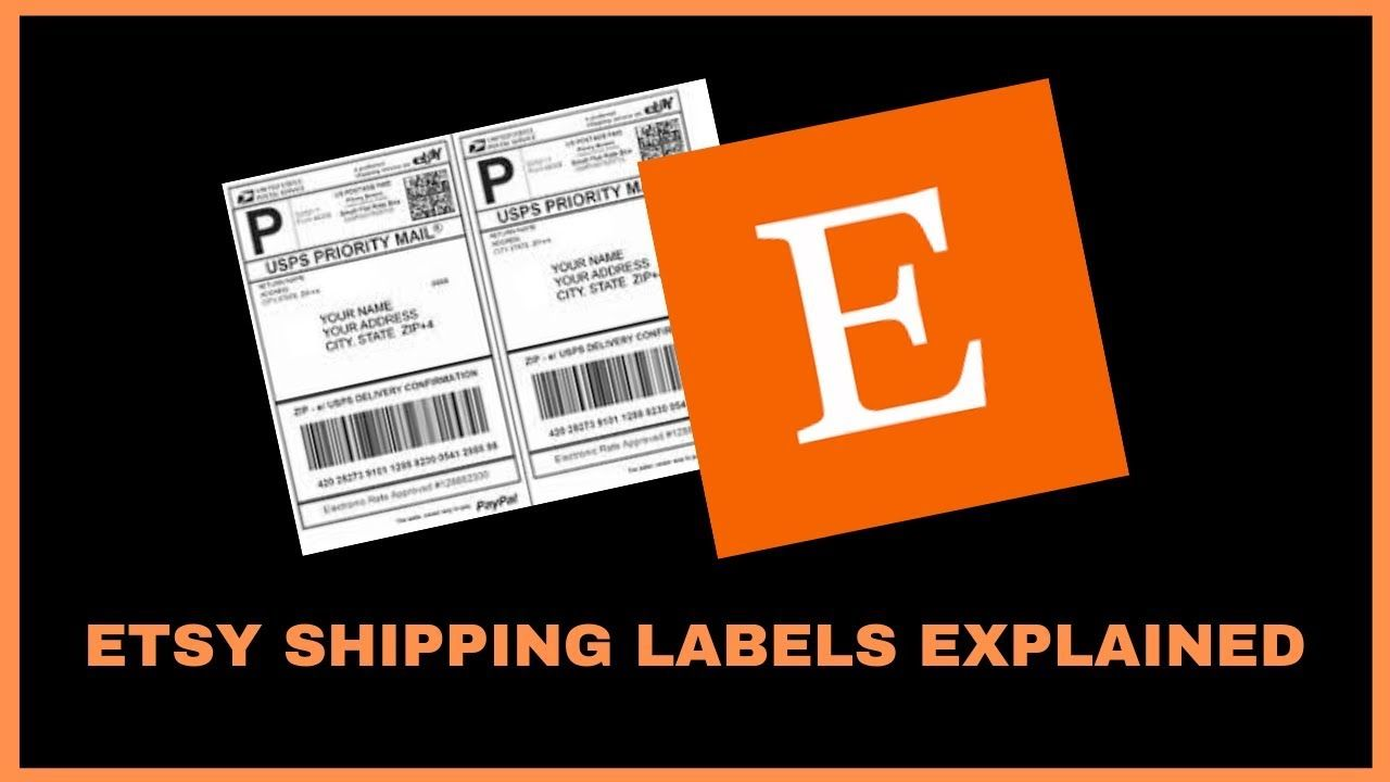 Etsy shipping tutorial how to print etsy shipping labels