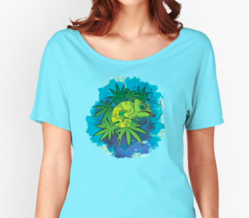 #weed #420 #marijuana #cannabis #stoner #iguana #dope #ladies #tee #t-shirt #mens # stickers #slaps #iphone cases