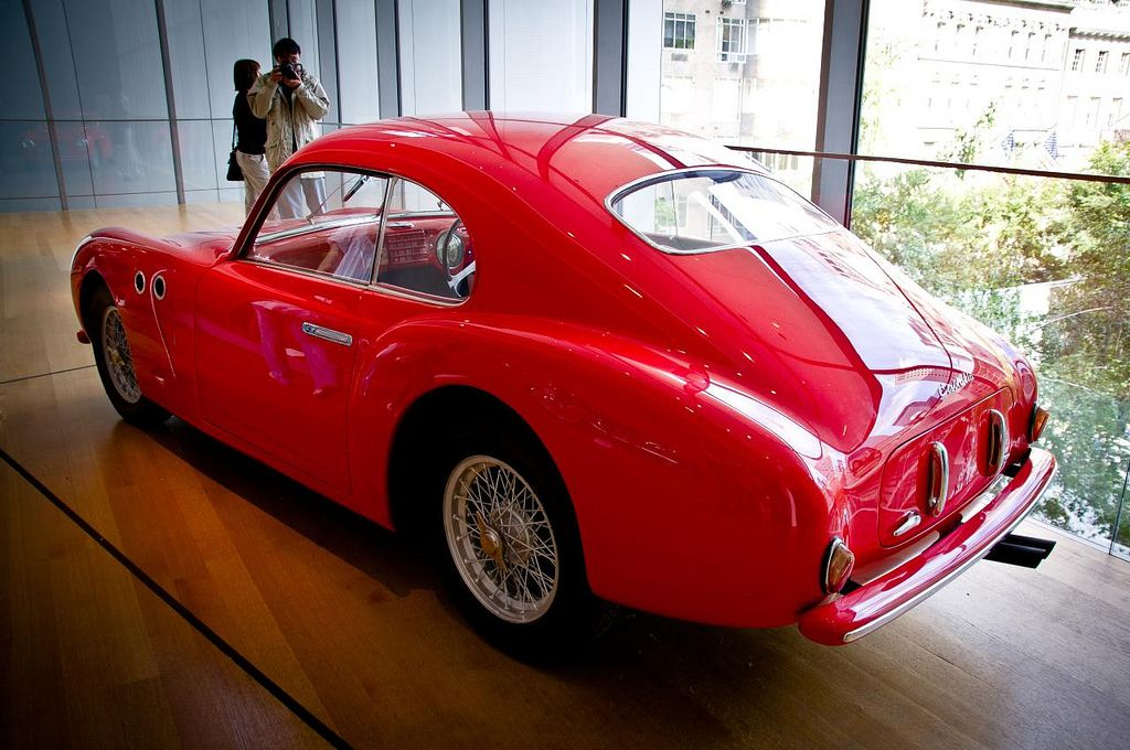 Cisitalia 202 design by Pininfarina. Museum of Modern Art, New ...