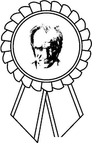Ataturk Boyama Boyama Sayfalari Faaliyetler Okul Oncesi