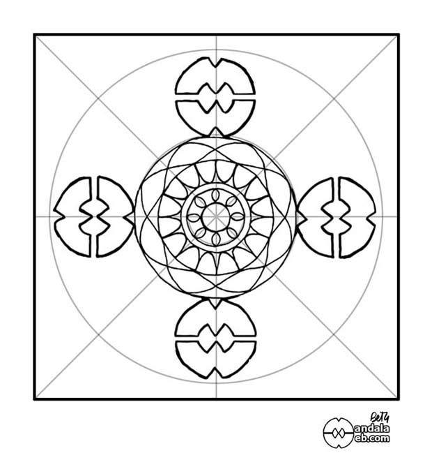 MandalaWeb - Cómo dibujar un mandala