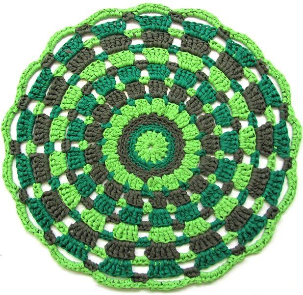 Mandala Design Textilgarn Crochet Pinterest Textilgarn