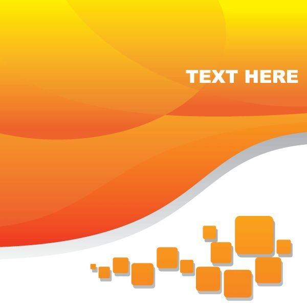 Abstract Orange Background Vector Free | Random Pins