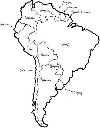 Mapa Politico De America Latina Para Colorear Con Nombres Image Search Results Mapa De America Del Sur Mapa De America Imagenes De Mapas