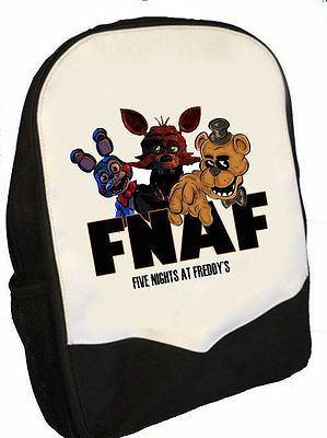 SMS Five Nights at Freddys Snapback HAT//Cap Foxy Black