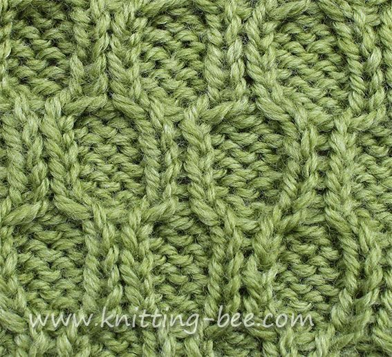 Honeycomb Trellis Cable Stitch Cable Stitch And Knitting Stitches