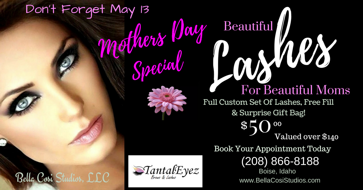 Perfect Mothers Day Gift! Lash Extensions, a FREE fill and