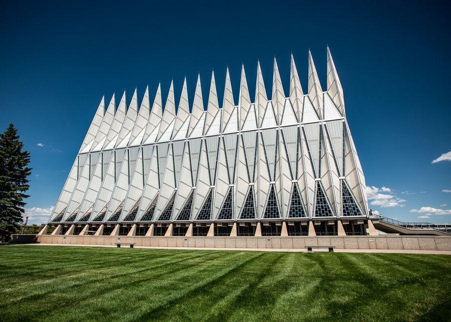 Air Force Academy Chapel, Colorado Springs Amazing