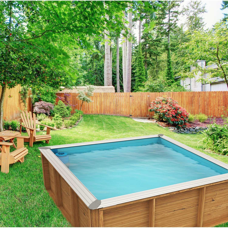 piscine hors sol bois urbaine proswell by procopi piscine leroy merlin iziva - Piscine Bois Leroy Merlin Hors Sol