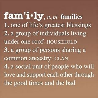Definition of Family {Vinyl} Family quotes funny, Family