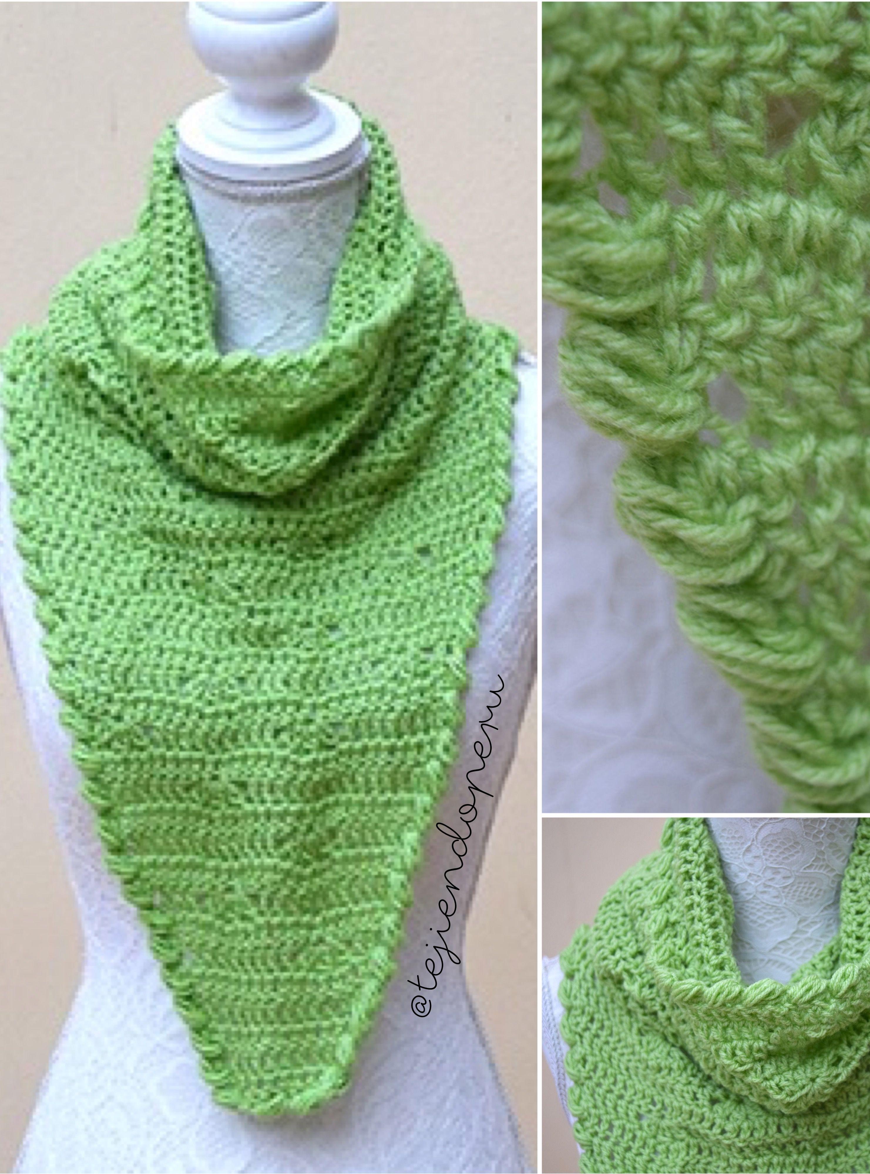Vistoso Los Patrones De Crochet Libre Para Pañuelos Y Capuchas Foto ...