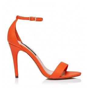 kelly heel with images  heels boot shoes women orange