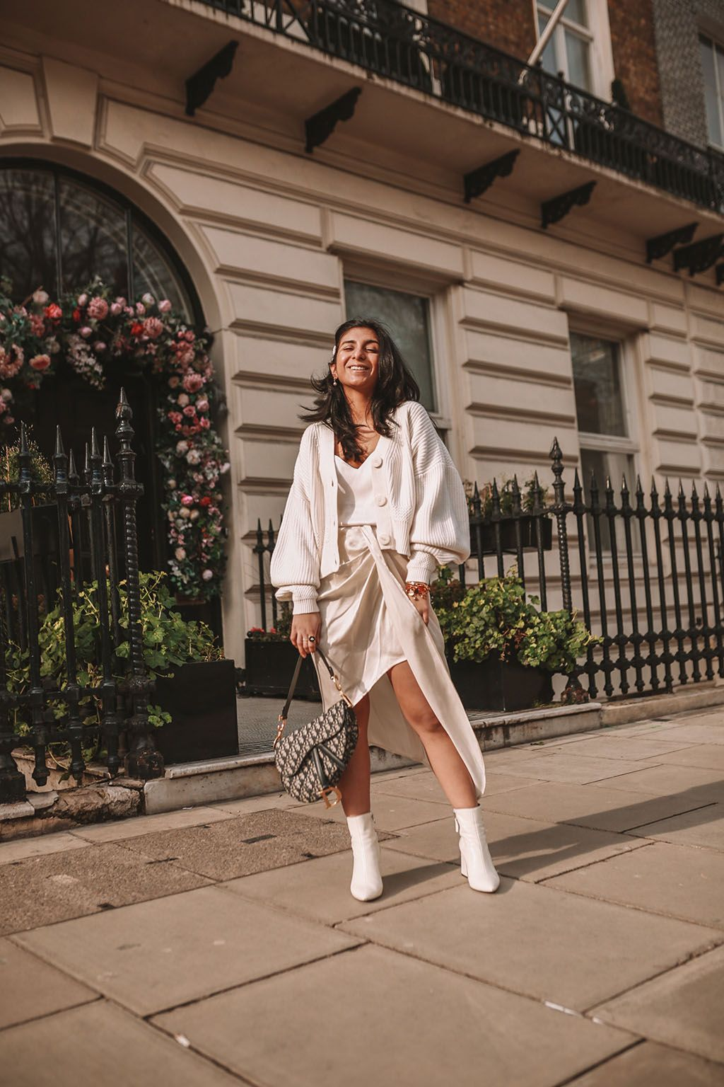 9832146abd7 Luxury fashion blogger Shloka Narang of The Silk Sneaker shares how to  create the perfect spring