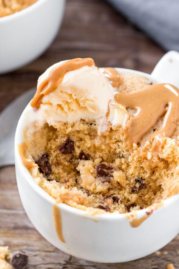 Peanut Butter Mug Cake | Recipe (With images) | Peanut ...