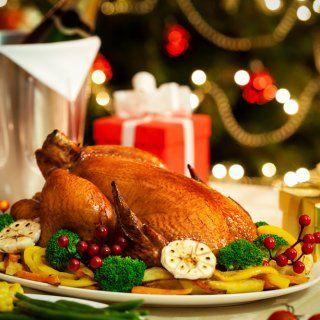 Pavo de Navidad Relleno de Carnes