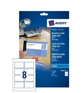 Papier Avery Zweckform C32015 10 Avery C32015 10