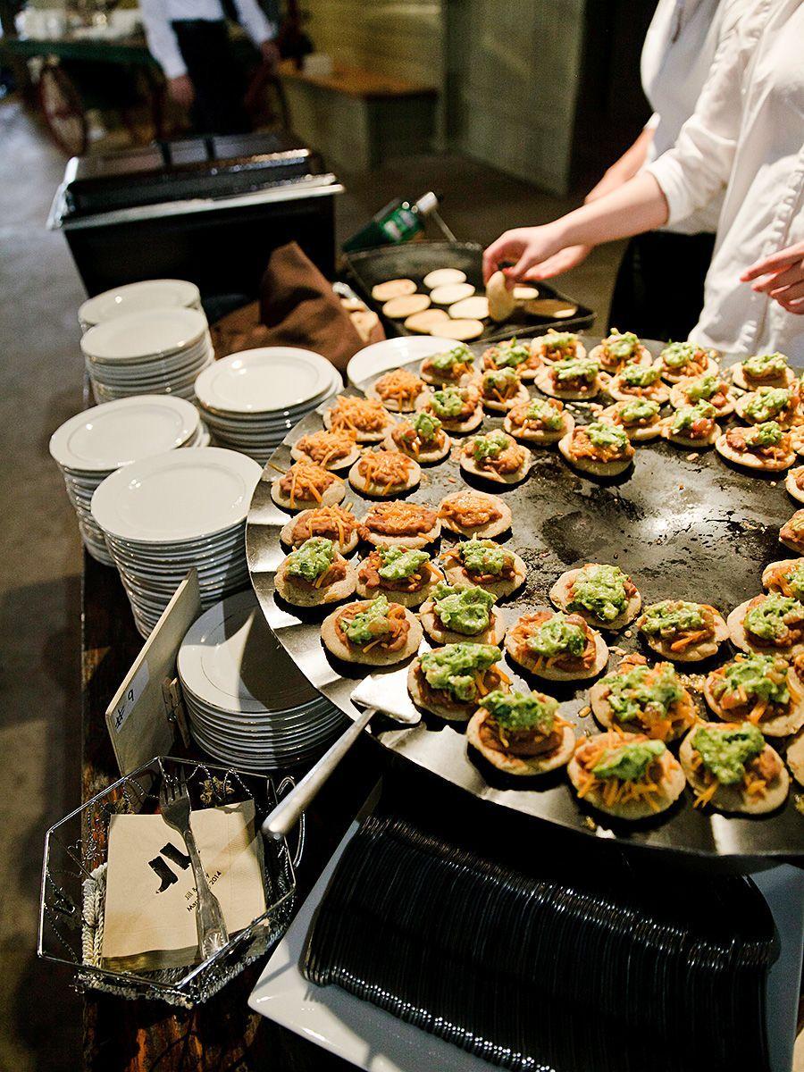 Chef Stations For A Creative Wedding Reception Menu Idea Weddings
