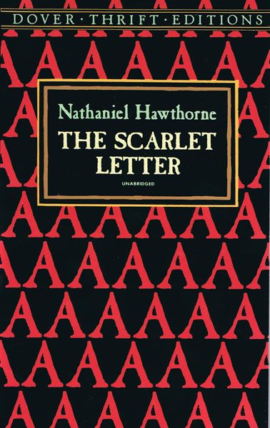 I Am Currently Designing A Book Cover For My Graphic Design II Class Chose The Scarlet Letter And So Must Come Up With Creative S