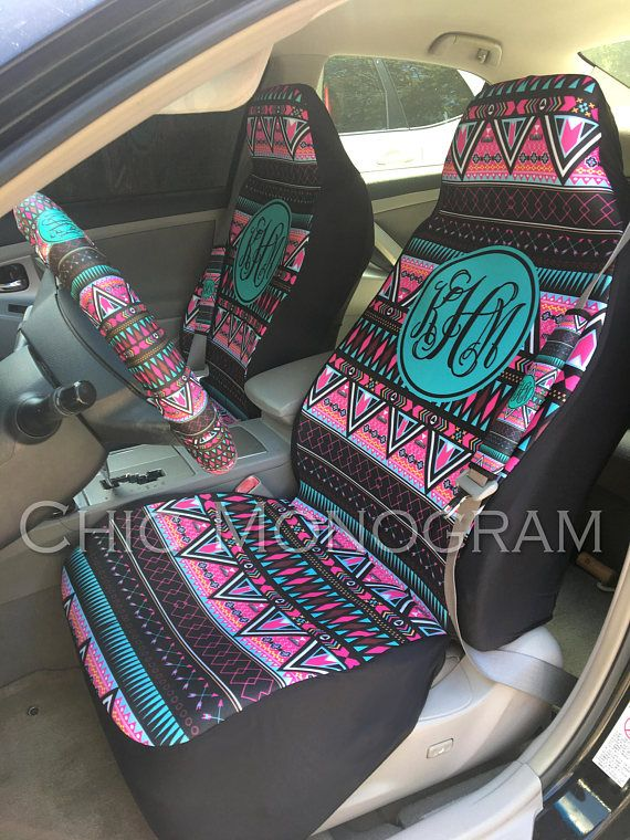 Prime Aztec Tribal Car Accessories Two Front Seat Covers Seat Belt Unemploymentrelief Wooden Chair Designs For Living Room Unemploymentrelieforg