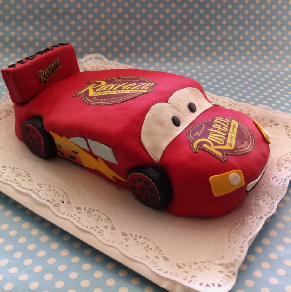 Rayo McQueen Cake - Tarta Rayo McQueen