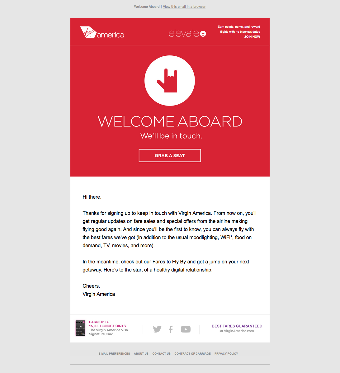 30 Great Examples of Welcome Emails to Inspire Your Own Strategy ...