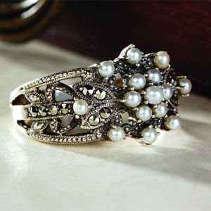 Stauer - Victorian Pearl Ring