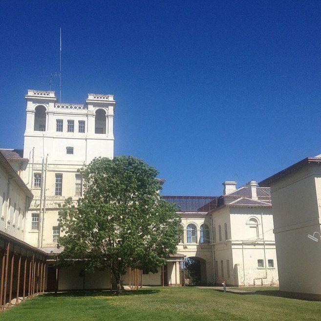 Aradale Mental Hospital Near Ararat, Victoria.
