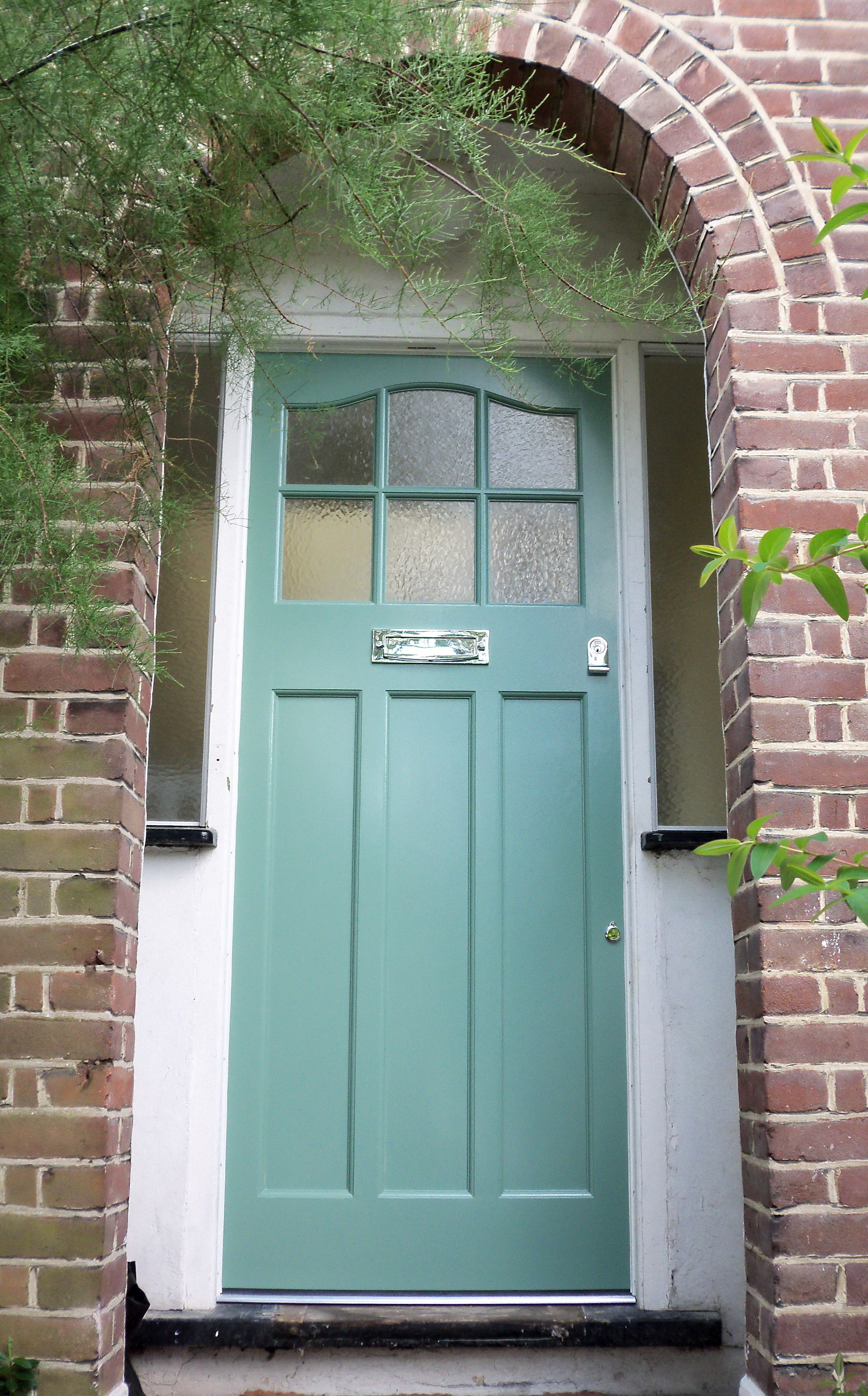 A classic 1930s style door edwardian house pinterest for Front window styles